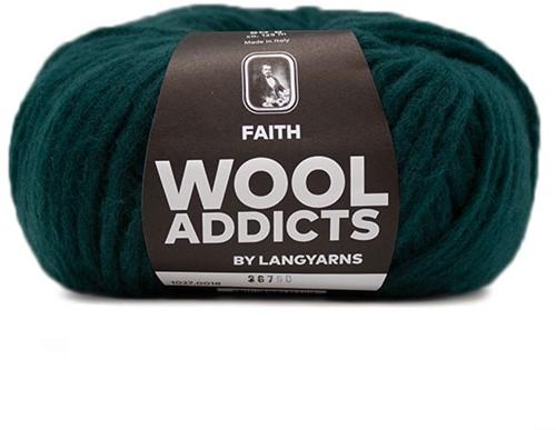 Wooladdicts Unique Mosaic Schal Häkelpaket 5 Moss Mélange