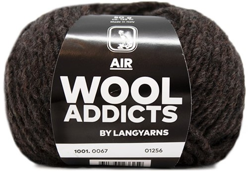 Wooladdicts City Life Pullover Strickpaket 10 XL Anthracite
