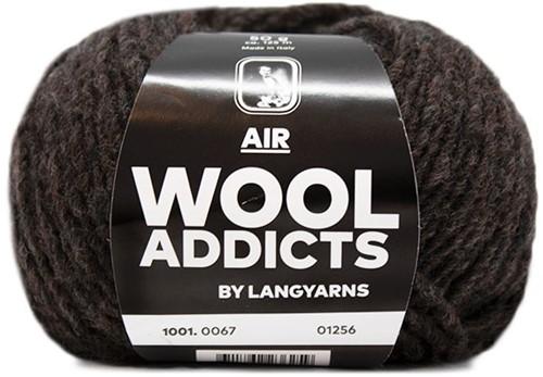 Wooladdicts City Life Pullover Strickpaket 10 L Dark Brown