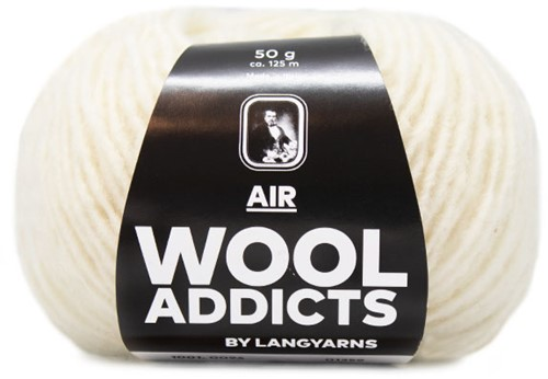 Wooladdicts City Life Pullover Strickpaket 13 M Off-White