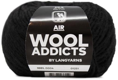 Wooladdicts City Life Pullover Strickpaket 2 M Black