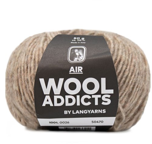 Wooladdicts City Life Pullover Strickpaket 7 XL Beige