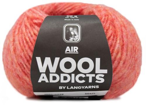 Wooladdicts City Life Pullover Strickpaket 8 L Melon