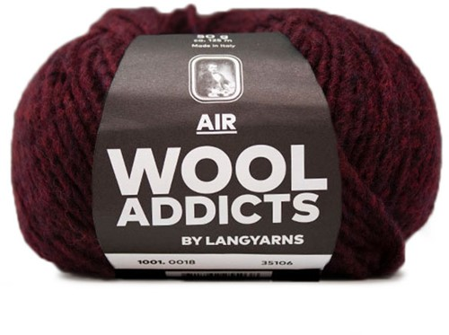 Wooladdicts City Life Pullover Strickpaket 9 XL Sunset