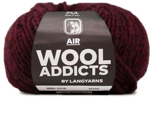 Wooladdicts City Life Pullover Strickpaket 9 L Sunset