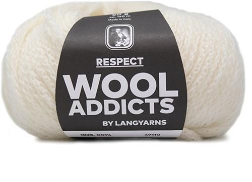 Wooladdicts Seductive Secret Strickjacke Strickpaket 10 S Off-White