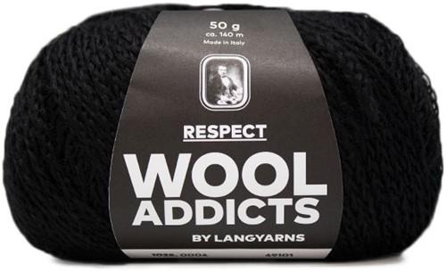 Wooladdicts Seductive Secret Strickjacke Strickpaket 2 L Black