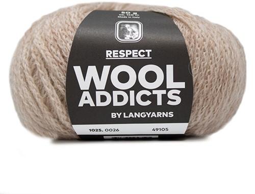 Wooladdicts Seductive Secret Strickjacke Strickpaket 6 L Beige