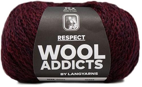 Wooladdicts Seductive Secret Strickjacke Strickpaket 7 M Sunset