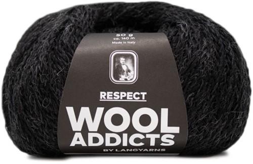 Wooladdicts Seductive Secret Strickjacke Strickpaket 9 XL Anthracite
