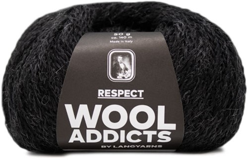 Wooladdicts Seductive Secret Strickjacke Strickpaket 9 M Anthracite