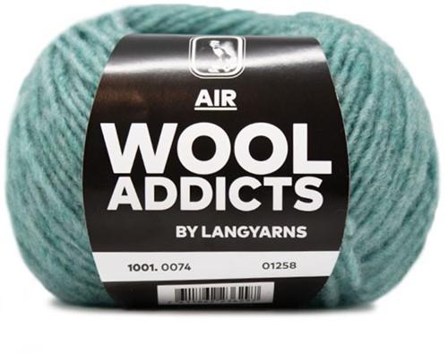 Wooladdicts Dramatic Dreamer Pullover Strickpaket 12 M Atlantic