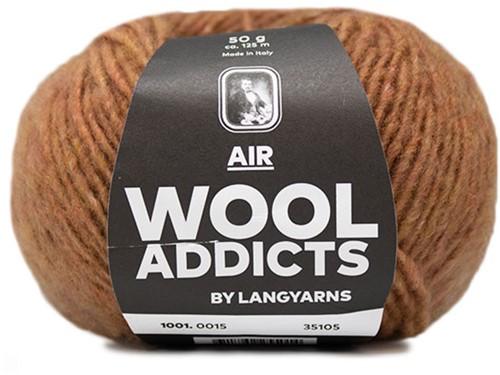 Wooladdicts Dramatic Dreamer Pullover Strickpaket 5 L Amber Mélange