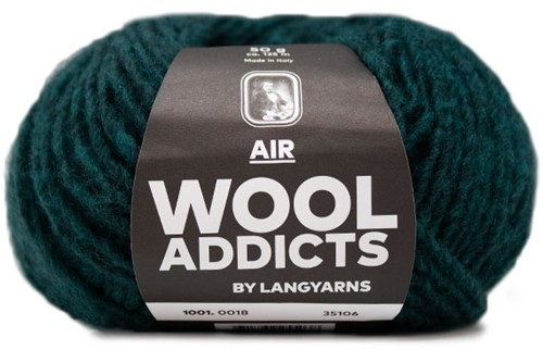 Wooladdicts Dramatic Dreamer Pullover Strickpaket 6 L Moss Mélange