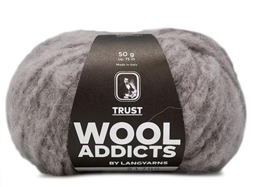 Wooladdicts Devoted Dancer Pullover Strickpaket 1 S/M Light Grey Mélange
