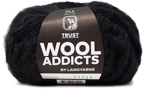 Wooladdicts Devoted Dancer Pullover Strickpaket 2 S/M Black