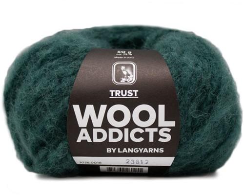 Wooladdicts Devoted Dancer Pullover Strickpaket 5 L/XL Moss Mélange