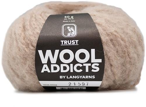 Wooladdicts Devoted Dancer Pullover Strickpaket 6 S/M Beige