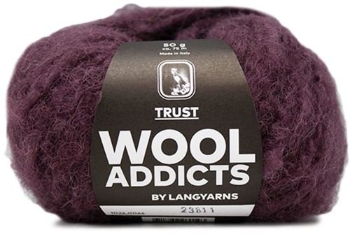 Wooladdicts Devoted Dancer Pullover Strickpaket 7 L/XL Sunset