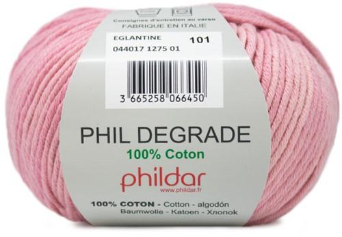 Phildar Phil Degrade 1275 Eglantine