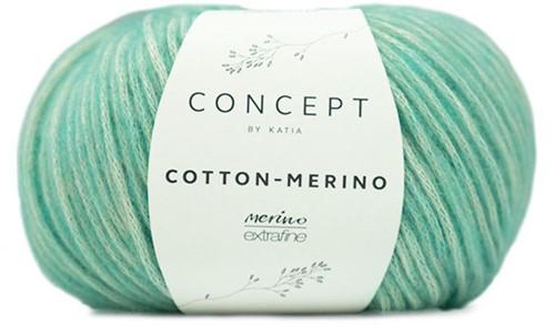Katia Cotton-Merino 129 Pastel green