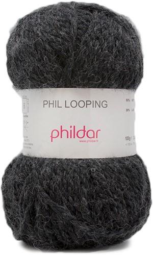 Phildar Phil Looping 1200 Carbone