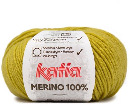 Katia Merino 100% 12 Yellow