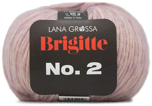 Lana Grossa Brigitte No.2 012 Old Pink