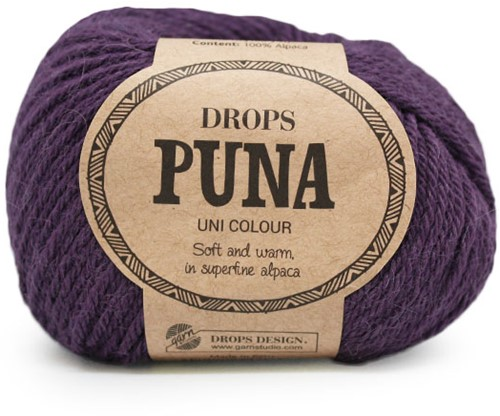Drops Puna Uni Colour 12 Violett