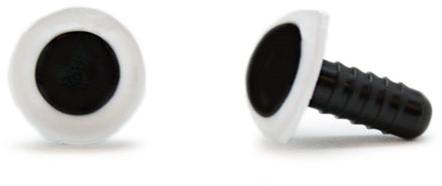 Sicherheitsaugen Weiß 12mm 2 Stück