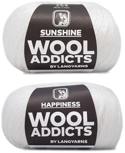 Wooladdicts Empty Promise Tasche Strickpaket 1 White