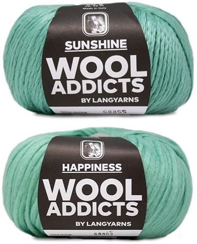 Wooladdicts Empty Promise Tasche Strickpaket 6 Mint