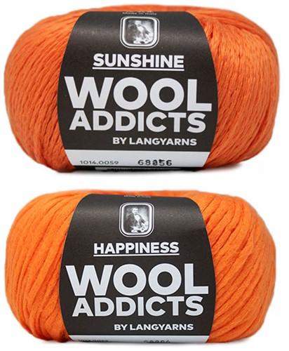 Wooladdicts Empty Promise Tasche Strickpaket 7 Orange