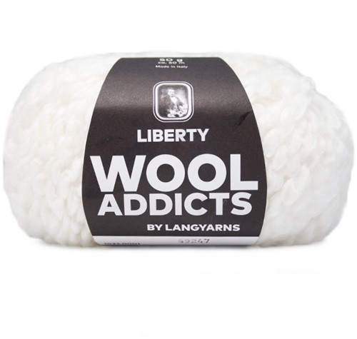 Wooladdicts Fuzzy Feeling Pullover Strickpaket 1 L White