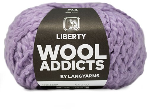 Wooladdicts Fuzzy Feeling Pullover Strickpaket 2 S Lilac