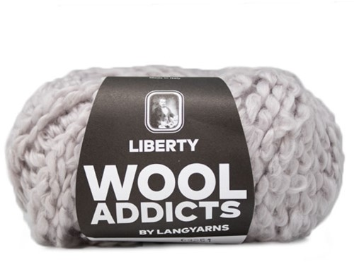 Wooladdicts Fuzzy Feeling Pullover Strickpaket 3 L Silver