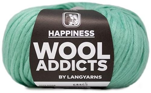 Wooladdicts Thankful Thought Strickjacke Strickpaket 6 XL Mint