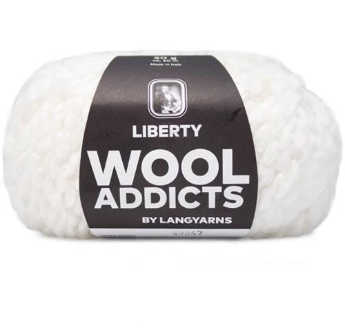 Wooladdicts Kind Knitter Dreieckstuch Strickpaket 1 White