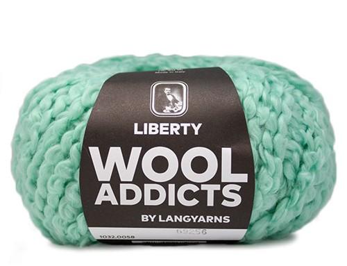 Wooladdicts Kind Knitter Dreieckstuch Strickpaket 6 Mint