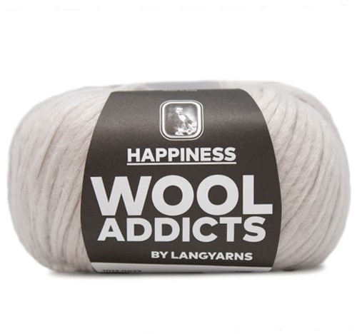 Wooladdicts Real Reckless Pullover Strickpaket 3 S Silver