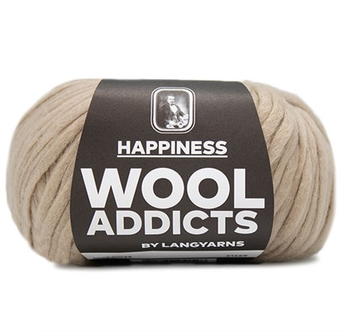 Wooladdicts Real Reckless Pullover Strickpaket 5 L Camel