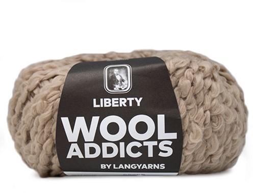 Wooladdicts Mint Madness Pullover Strickpaket 5 L Camel