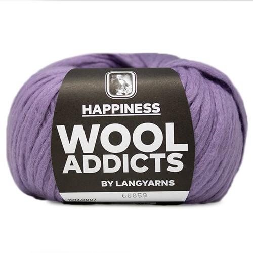 Wooladdicts Happy Habit Strickjacke Strickpaket 2 L Lilac