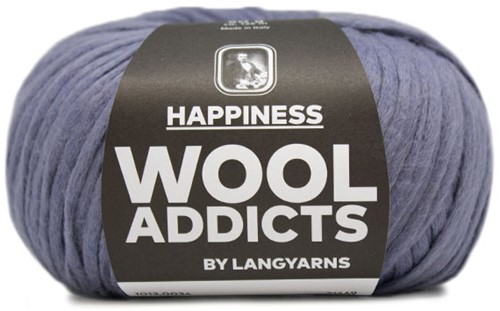 Wooladdicts Happy Habit Strickjacke Strickpaket 4 S Jeans