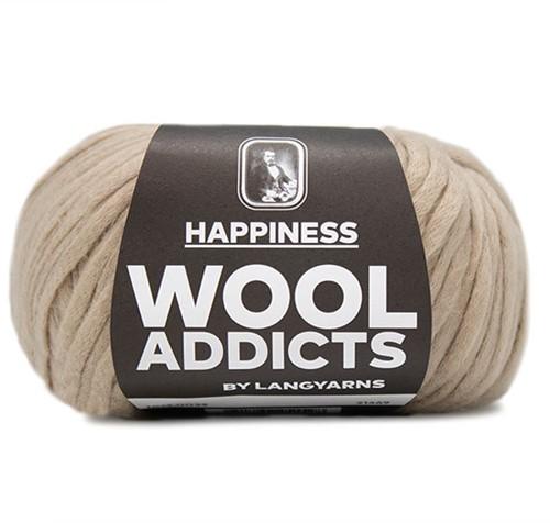 Wooladdicts Happy Habit Strickjacke Strickpaket 5 L Camel