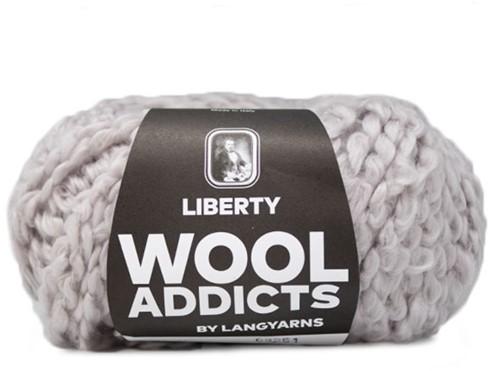 Wooladdicts Pure Pleasure T-Shirt Strickpaket 3 L Silver