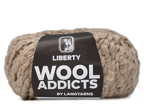 Wooladdicts Pure Pleasure T-Shirt Strickpaket 5 S Camel