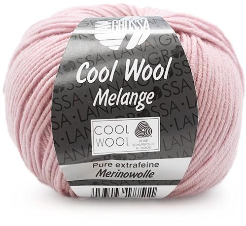 Lana Grossa Cool Wool Melange 134 Rose Mottled