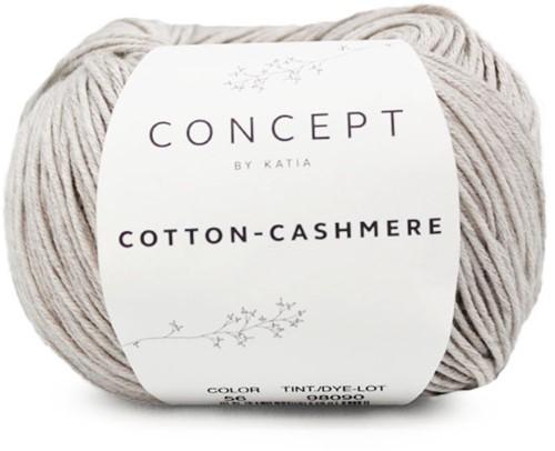 Cotton-Cashmere Top Strickpaket 2 38/40 Stone Grey