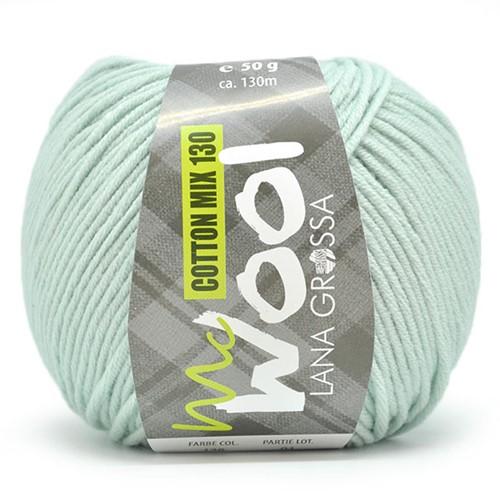 Lana Grossa Cotton Mix 130 136 Subtle Green
